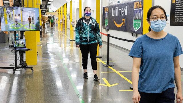 Amazon, depolarda yapay zekâ destekli 'mesafe yardımcısını' kullanmaya başlıyor