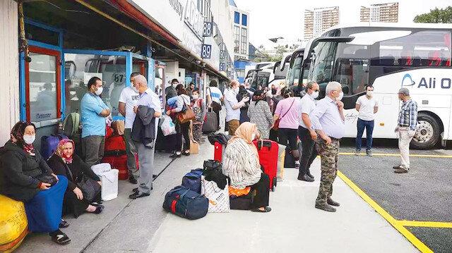 Fahiş bilet fiyatları normalleşiyor: Hızlı tren ve havayolu uçuşlarının başlaması otobüs fiyatlarını düşürdü