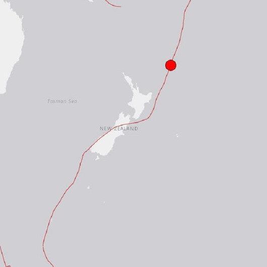 Yeni Zelanda'da 7.1 büyüklüğünde deprem meydana geldi
