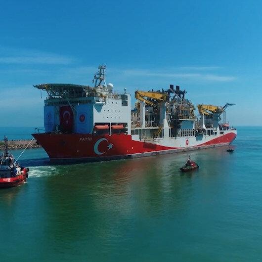Fatihin Trabzon Limanına demir attığı Operasyon havadan görüntülendi