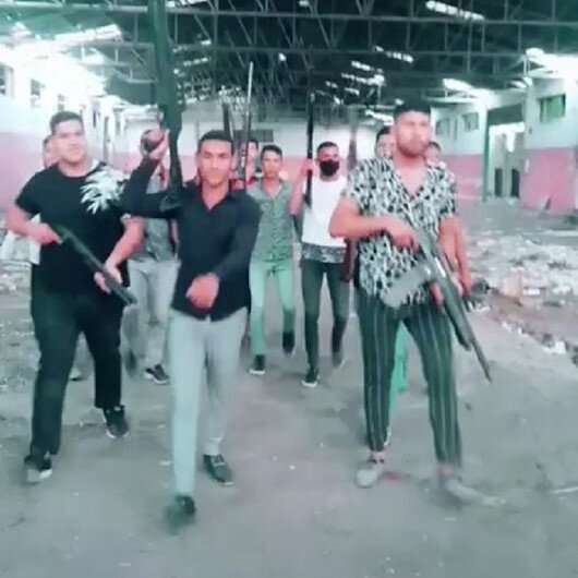 Pompalı tüfeklerle video çekip, paylaşan 20 kişiye gözaltı