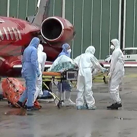 Koronavirüs hastası Türk vatandaşı Rusyadan İstanbula getirildi