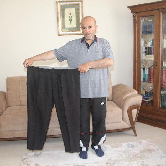 Azmin zaferi: 11 ayda 60 kilo verdi 'Artık elektrikli otomobil gibi sessiz çalışıyorum' dedi