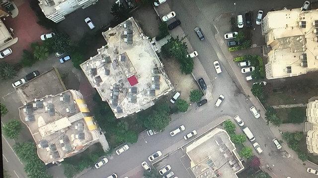 FETÖ'ye 'drone'lu operasyon