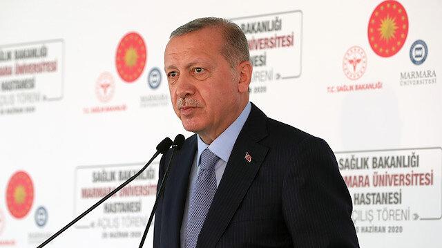 Cumhurbaşkanı Erdoğan: Temizlik, maske, mesafe kurallarına uymamak kul hakkına girmektedir