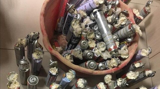 Metal köpük kutularından 113 kilo eroin çıktı