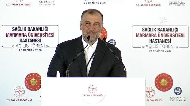 Murat Ülker, kayınpederinin ismi verilen Prof. Dr. Asaf Ataseven Hastanesi'nin açılışında konuştu