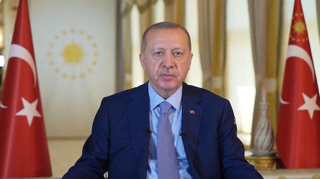 Cumhurbaşkanı Erdoğandan Uluslararası Göç Filmleri Festivali'ne mesaj: Türkiye-Yunanistan sınırında yaşanan insanlık dışı görüntüler son derece ibretliktir