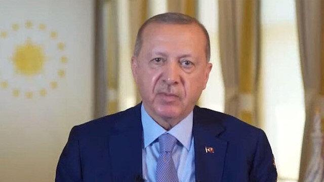 Cumhurbaşkanı Erdoğan, Uluslararası Göç Filmleri Festivali'nin kapanış töreninde konuştu: Avrupa'ya sığınan 10 bin Suriyeli çocuğun akıbeti bilinmiyor