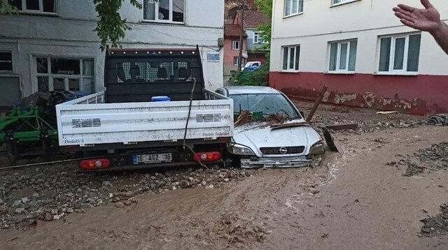 Bursa'yı sel vurdu: Hayat felç oldu, ölü ve yaralılar var