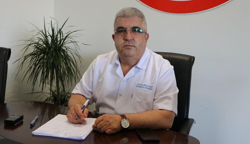 Kayseri Şehir Hastanesi Başhekimi ve Bilim Kurulu Üyesi Prof. Dr. İlhami Çelik açıklama yaptı.
