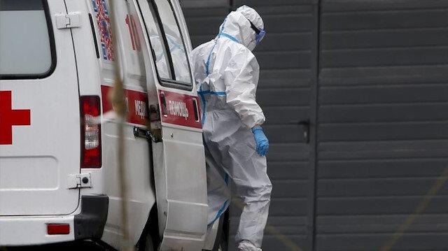 Rusya'da son 24 saatte 7 bin 600 yeni koronavirüs vakası