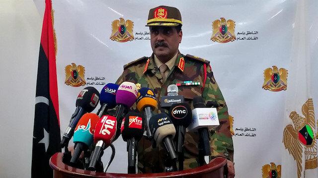 Darbeci Hafter'in Sözcüsü Mismari: Libya hükümeti Mısır'daki piramitlere adlarını yazmak istiyor