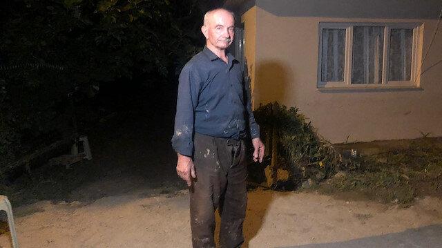 Bursa'da selin vurduğu Dudaklı köyündeki çiftçi: Hayatımda böyle felaket görmedim