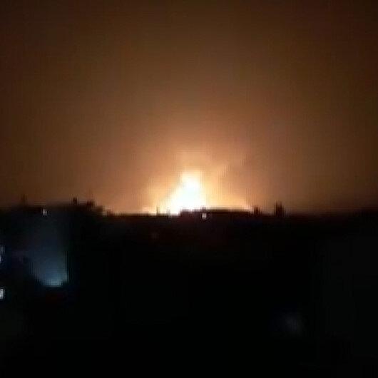 İşgalci İsraile ait savaş uçakları Suriyeyi vurdu: 14 ölü