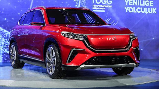 Yerli otomobil Avrupa Birliği'nden sonra Çin Patent Kurumu tarafından da TOGG adına tescillendi
