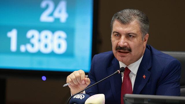 Sağlık Bakanı Fahrettin Koca: İkinci dalgayı yaşamıyoruz