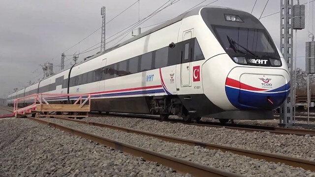 Ulaştırma Bakanı Karaismailoğlu'ndan hızlı tren müjdesi: Hattımızı 5 yılda 1.200 kilometreden 5 bin 500 kilometreye çıkaracağız