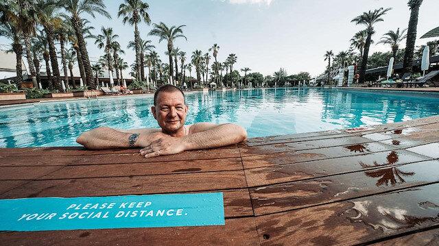 Alman muhabir turist gibi gelip Bild'e yazdı: Antalya Berlin'den daha tedbirli