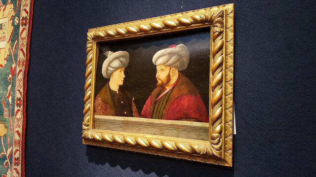 Fatih Sultan Mehmed'in portresini İBB 770 bin Sterlin'e satın aldı