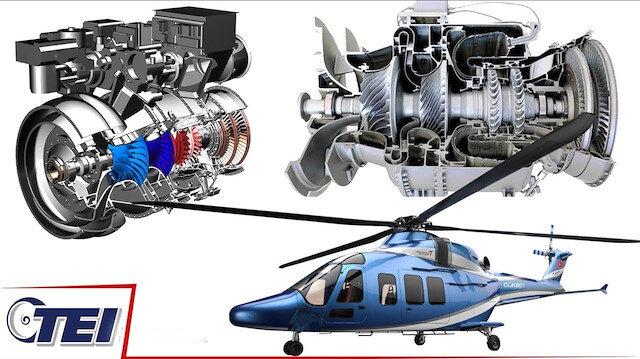 Millî helikopter motoru TS1400 yolda: Sözleşme imzalandı