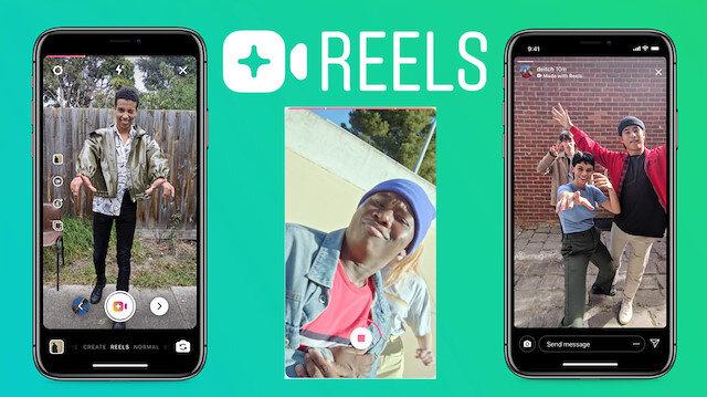 Instagram'ın TikTok'a rakip servisi Reels'in kapsam alanı genişliyor