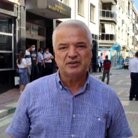Saruhanlı Belediye Başkanı Zeki Bilgin: Belediye binamız müthiş derecede sallandı