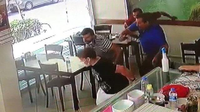 Manisa depremine lokantada yakalandılar