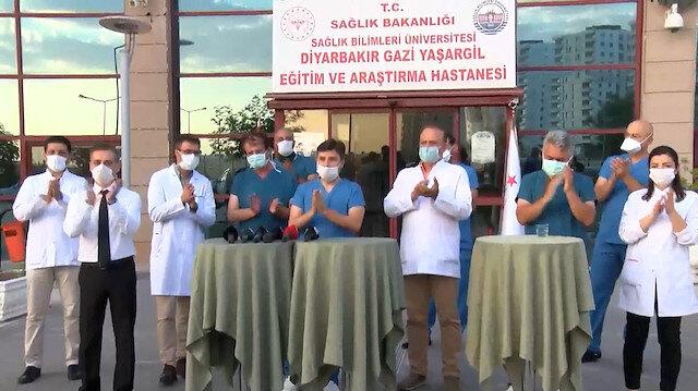 Diyarbakırda gerçekleştirilen Türk ışını tedavisi dünyaya umut oldu: Tedavi uygulanan hastanın testleri negatif çıktı