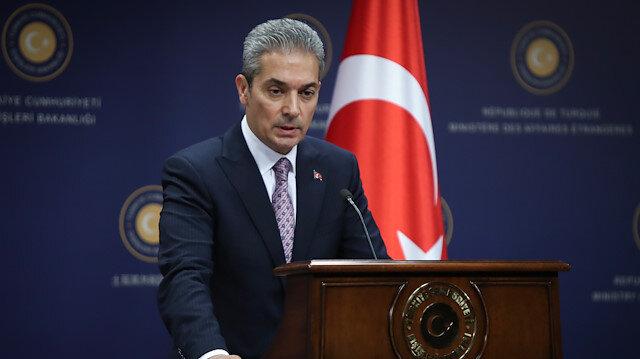 Dışişleri Bakanlığı: Güney Kıbrıs'la hiçbir şekilde masaya oturmayız