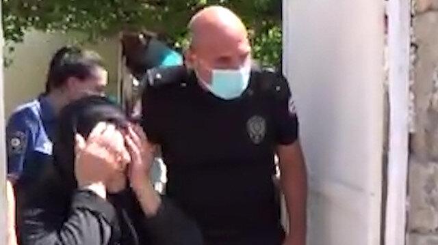 Hatay polisinden Rahme Nineyi gözyaşlarına boğan sürpriz