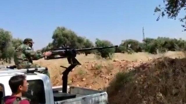 Suriye Milli Ordusu ile YPG/PKK'lı teröristler arasında şiddetli çatışma: 6 terörist öldürüldü