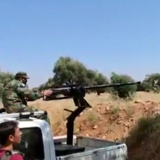 Suriye Milli Ordusu ile YPG/PKKlı teröristler arasında şiddetli çatışma: 6 terörist öldürüldü