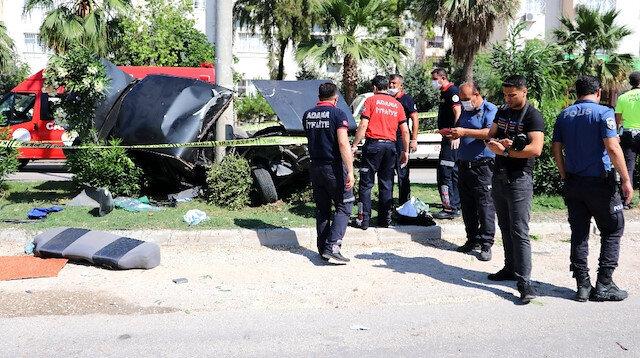 Sınav için yola çıkan kız kardeşler okula 200 metre kala kazada yaralandı