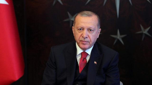 Cumhurbaşkanı Erdoğan'dan Pençe-Kaplan Operasyonu şehidi Piyade Uzman Onbaşı Recep Yüksel'in ailesine başsağlığı mesajı