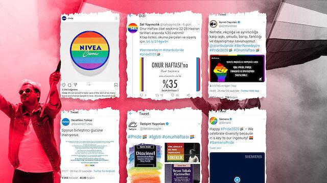 Türkiye'de sapkın LGBT'yi destekleyen firmalar eşcinselliği meşrulaştırmaya çalışıyor
