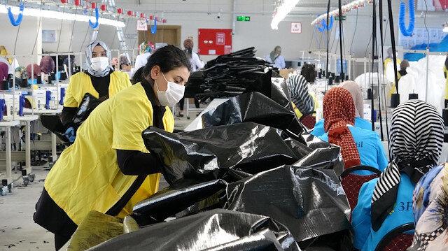 Erzurum'da üretilen ceset torbaları Avrupa'ya satılıyor