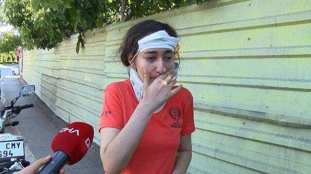 Hastane yerine okula koştu: Sınav yolunda feci kaza