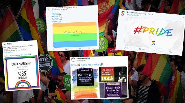 LGBT'nin sponsor yayınevleri: Eşcinsellik propagandası yapıyorlar