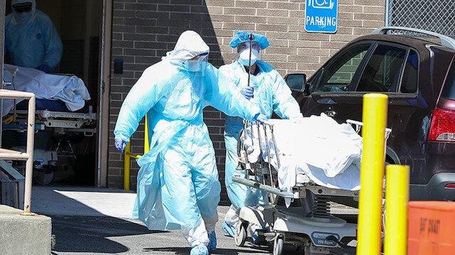 ABD'de koronavirüs nedeniyle yaşamını yitirenlerin sayısı 128 bin 451'e yükseldi