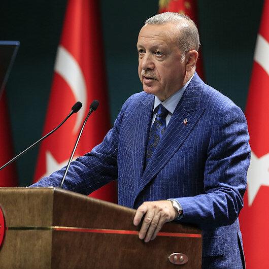 Cumhurbaşkanı Erdoğan duyurdu: Kısa çalışma ödeneği bir ay daha uzatıldı