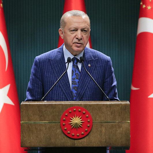 Cumhurbaşkanı Erdoğan: Yarın şehit yakınları ve gaziler kura ile kamu kuruluşlarına yerleştirilecek