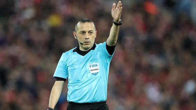 Galatasaray Trabzonspor maçının hakemi Cüneyt Çakır oldu