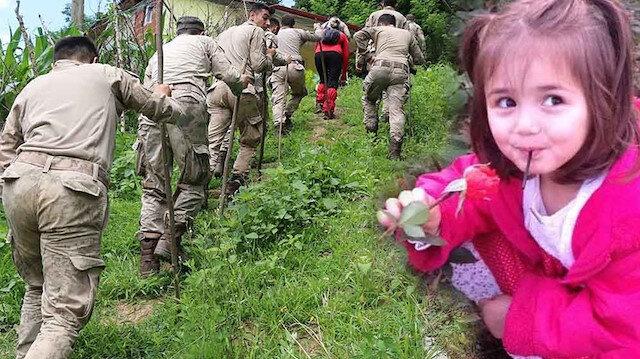 Giresun'da günlerdir aranan İkranur Tirsi'den acı haber: Cansız bedenine ulaşıldı