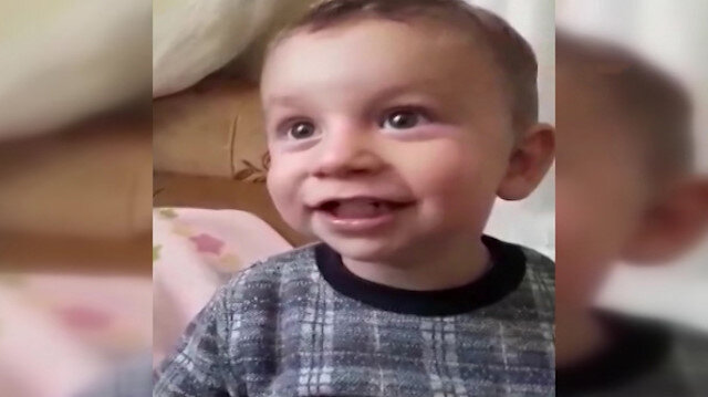 Canice boğularak öldürülen minik Alperen'in son görüntüleri