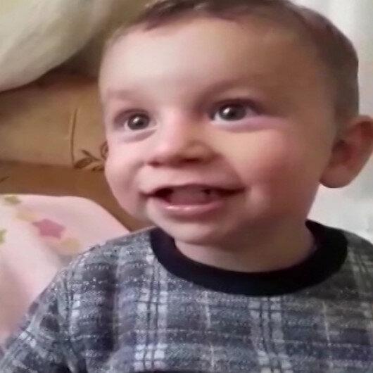 Canice boğularak öldürülen minik Alperenin son görüntüleri