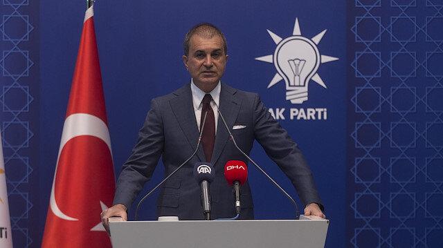Ömer Çelik: Türk donanmasıyla şaka yapmak boyunuzun ölçüsünü aşar