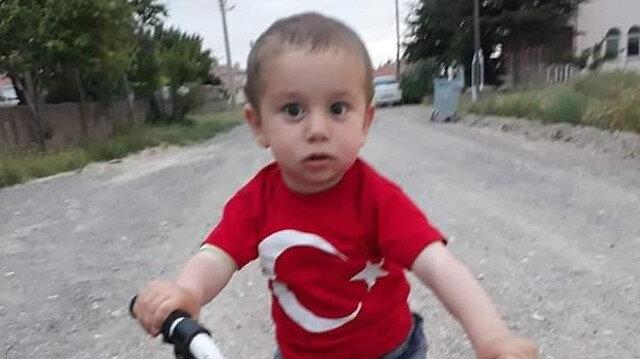 Kayseri'de 3 yaşındaki Alperen'i döverek öldüren zanlı, su kuyusunda yakalandı