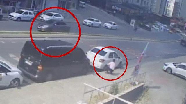 Esenyurt'ta silahlı saldırı anı güvenlik kamerasına yansıdı