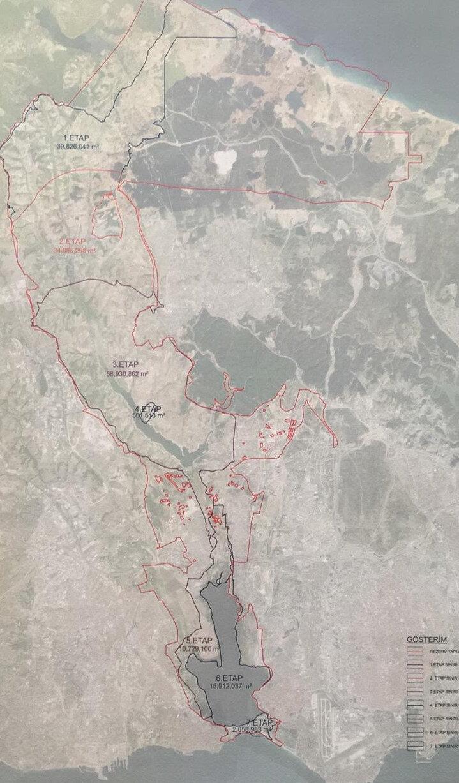 İmar planlarıyla Kanal İstanbul'un ulaşımını da kolaylaştıracak düzenlemeler yapıldı.